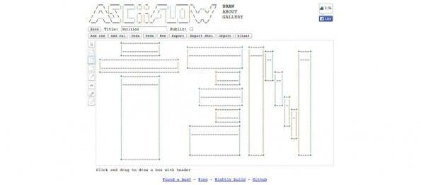 ASCIIFLOW: Praktischer Editor für ASCII-Art-Fans. (Screenshot: ASCIIFLOW.com)