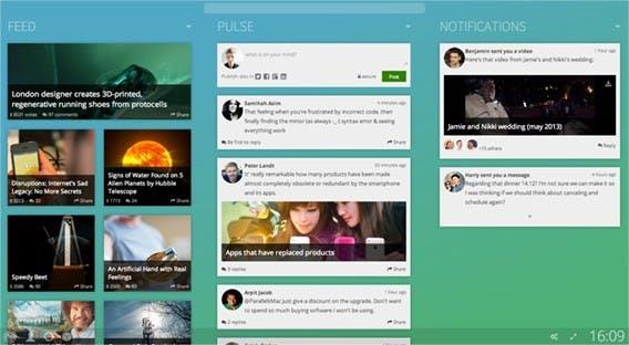 Ein erstes Konzept vom Browser-Betriebssystem Avatar. (Quelle: sneakpeek.avatar.ai)