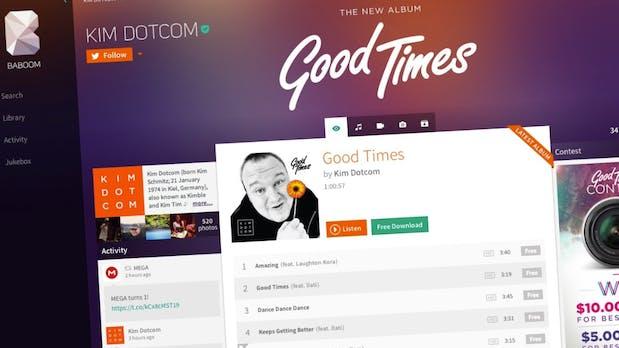 Baboom: Kim Schmitz' dreiste Antwort auf Spotify und iTunes