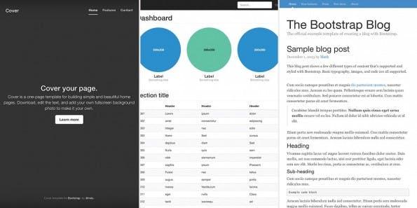 Bootstrap 3.1: Die neue Version des Front-End-Frameworks ist da. (Screenshot: Bootstrap)