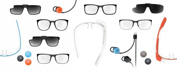Was Google mit der Glass bisher nicht geschafft hat, will Carl Zeiss auf den Weg bringen: eine unauffällige schlaue Brille. (Quelle: google.com/glass)