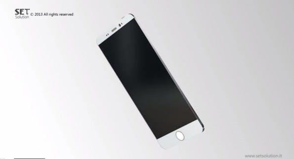 iPhone Air statt iPhone 6: So stellen sich italienische Designer das nächste Apple-Smartphone vor. (Screenshot: SET Solution / YouTube)