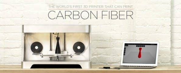 Mark One: 3D-Drucker versteht sich auch auf Kohlenstofffasern. (Bild: MARK FORG3D)