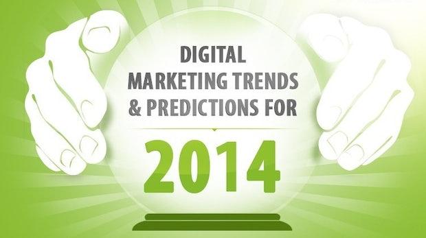 Die digitalen Marketingtrends für 2014