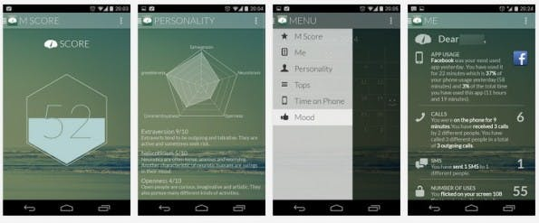 Menthal: Mit der App habt ihr eure Smartphone-Nutzung genau im Blick. (Screenshot: Play-Store)