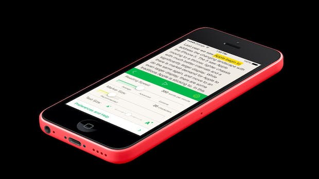 Outread: Speed-Reading-App nutzt Pocket, Instapaper und Readability