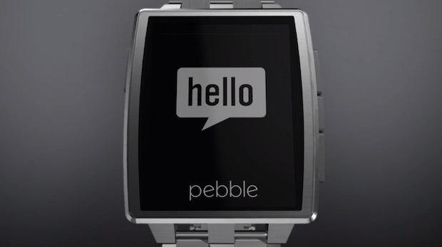 CES 2014: Pebble Steel – Neues Modell der Smartwatch mit Stahl, Leder und Gorilla Glass