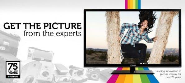Polaroid will 4K-Fernseher zum Kampfpreis anbieten. (Bild: Polaroid)