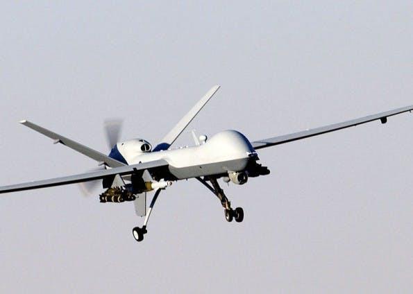 Drohnen fliegen Einsätze aufgrund verknüpfter, digitaler Informationen – oft mit unabsehbaren Kollateralschäden. (Bild: USAF Photographic Archives)