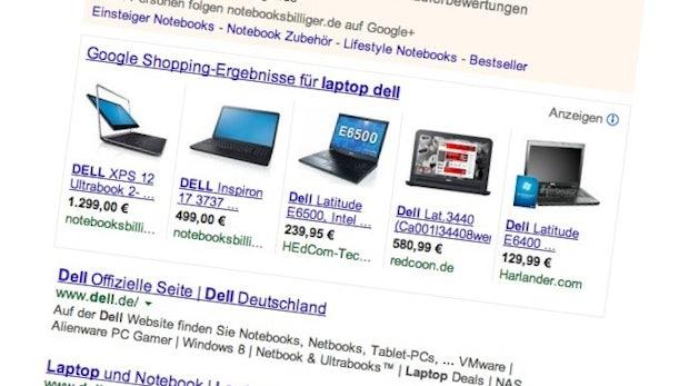 """Google: Ausgaben für """"Product Listing Ads"""" wachsen um 300 Prozent"""