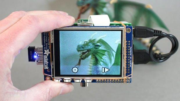 Raspberry-Pi-Cam: Selbstbaukamera mit Touchscreen und Dropbox-Support