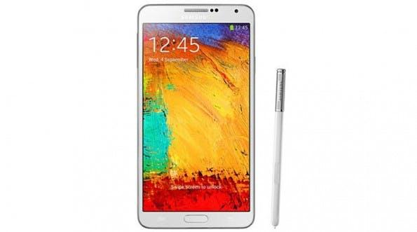 Galaxy Note 3: Samsung-Smartphone verweigert Dienst mit Drittanbieterzubehör. (Bild: Samsung)