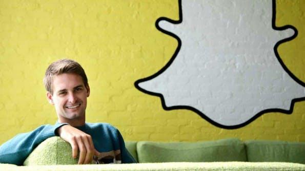 Snapchat-Gründer Evan Spiegel hat den Ephemeral-Trend mit seiner App ausgelöst. (Bild: Snapchat)