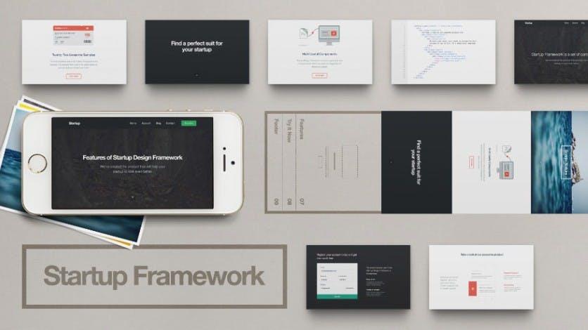Startup Framework: Cooler Baukasten für schicke Websites