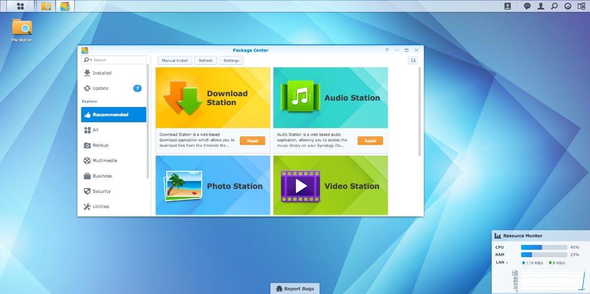 Synology DSM 5.0: Flat-Design und Chromecast-Unterstützung für NAS-Systeme