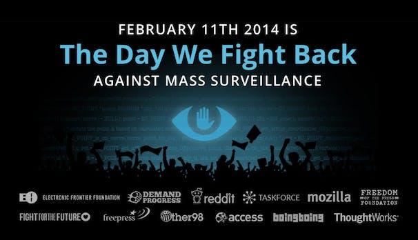 The Day We Fight Back: Aktionstag gegen die NSA am Jahrestag von Aaron Swartz' Tod