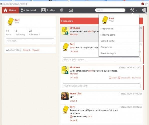 Twister: So sieht die dezentrale Twitter-Alternative aus. (Bild:  Miguel Freitas)