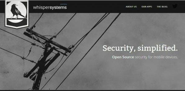 Die Macher der Zones-App haben sich der sicheren mobilen Kommunikation verschrieben. (Screenshot: Whisper Systems)