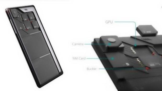 CES 2014: Ich tausch' schnell die CPU aus – ZTE zeigt modulares Smartphone-Konzept