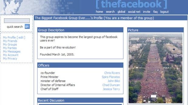 10 Jahre Facebook: Eine visuelle Reise durch die Timeline der Nutzer