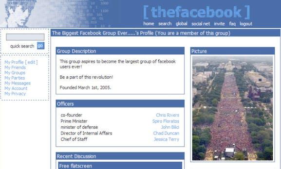 10 Jahre Facebook: Eine visuelle Reise durch die Timeline der Nutzer [Bildergalerie]
