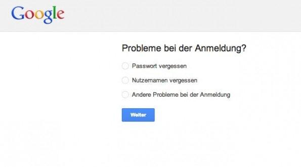 E-Mail-Account gehacked? Ersetze dein altes gegen ein neues Passwort. (Screenshot: Gmail)