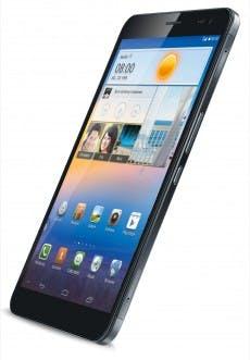 Das MediaPad X1 von Huawei ist dünner als das iPad Mini und verfügt über einen extrem dünnen Displayrand. (Quelle: Huawei)