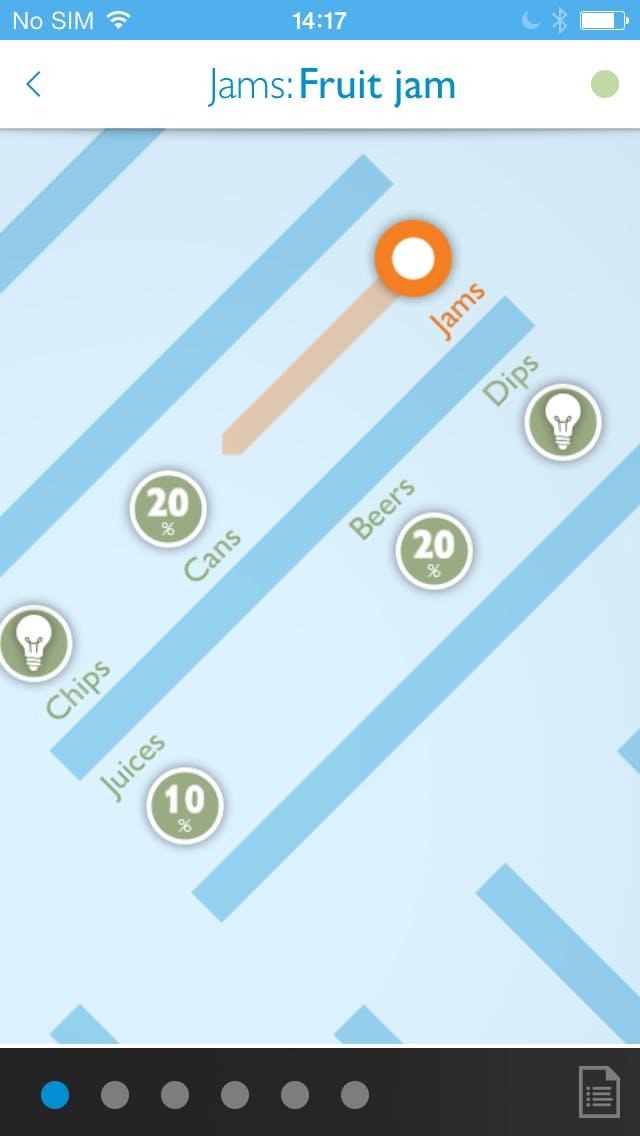 Ansicht einer Demonstrations-App von Philips. (Screenshots: Philips)