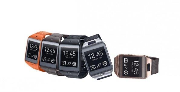 Die neue Samsung Gear 2 kann nun mit anderen Armbändern verwendet werden. (Quelle: Samsung)