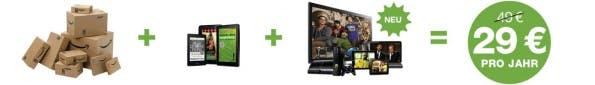 Amazon Prime: Ab Montag mit unbegrenztem Streaming von Serien und Filmen. (Bild: Amazon)