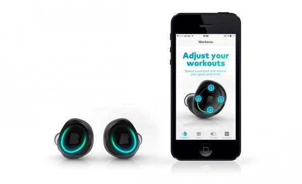 The Dash: Das Münchener Startup Bragi bringt smarte Kopfhörer mit ungewöhnlichen Funktionen. (Foto: Bragi)