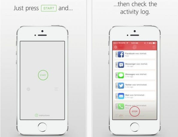 Catchr soll iPhone- und iPad-Besitzern zeigen, was Fremde mit dem eigenen Gerät getrieben haben. (Bild: Catchr)