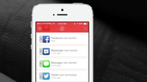 """Catchr für iOS: """"Hab dich! Du warst an meinem iPhone!"""""""