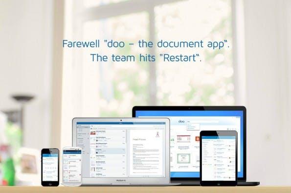 Aus der Traum vom papierlosen Büro: Das Bonner Startup Doo schließt seine Pforten und plant neues mit alten Technologien. (Bild: doo)