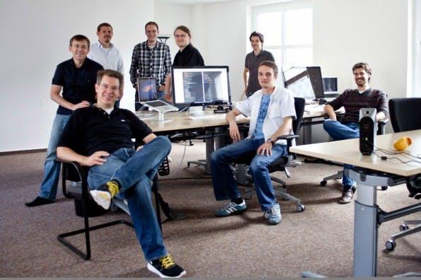 Das Startup-Tam von Doo: Mit acht Millionen Euro von Investoren schickte sich das Bonner Unternehmen an, den Traum vom papierlosen Büro Wirklichkeit werden zu lassen. (Foto: Doo)