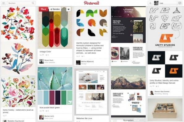 Was fürs Auge: Die meisten Bilder bei Pinterest sind optisch anspruchsvoll.