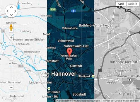 Map-Builder macht Google-Maps-Karten zum Kinderspiel