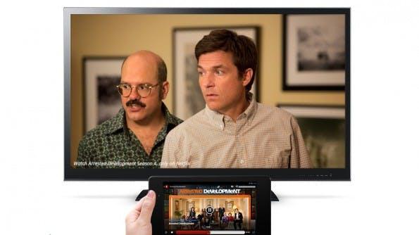 Zumindest das ZDF möchte ab Ostern in seiner App Unterstützung für Googles Chromecast anbieten. (Quelle: Google)