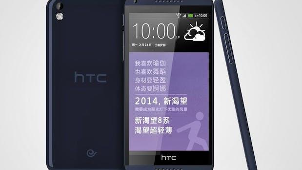 HTC Desire 8: So sieht das neue günstige XXL-Smartphone aus