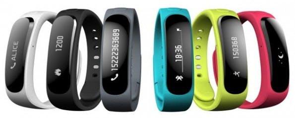 Mit dem Huawei TalkBand B1 zeigt der chinesische Hersteller sein erstes Wearable Device. (Quelle: Huawei)