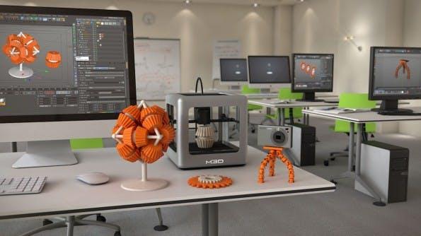 Der Micro 3D, ein erschwinglicher 3D-Drucker. (Quelle: themicro3d.com)