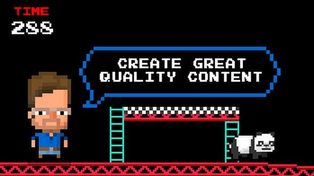 Matt Cutts als Donkey Kong: Die SEO-Szene bekommt ihre eigenen Browser-Games