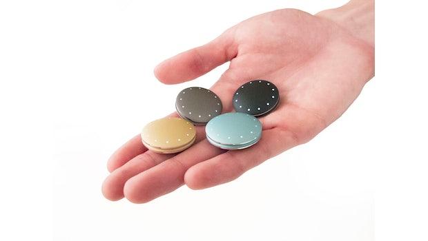 Der Misfit Shine ist in vier Farben erhältlich. (Bild: Misfit Wearables)