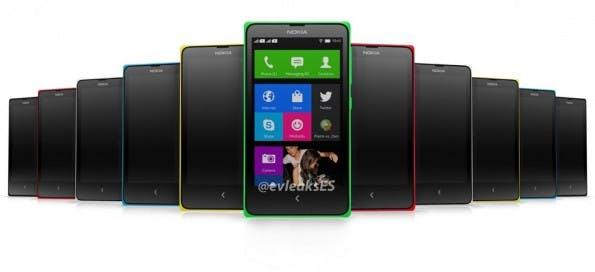 Angebliche Bilder vom Nokia Normandy wandern schon seit einigen Wochen durch das Netz. (Quelle: twitter.com/@evleaks)