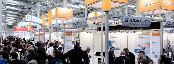 Der Open Source Park auf der CeBIT. (Bild: Open Source Park)