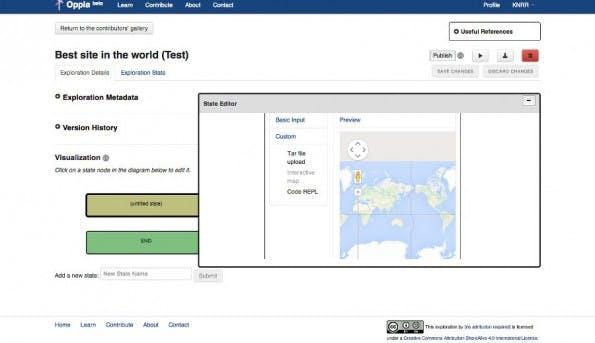 Oppia: So sieht Googles neue E-Learning-Plattform aus. (Screenshot: Oppia)