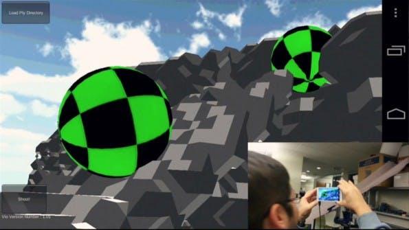 3D-Fähigkeit eröffnet neue Optionen für die Smartphone-Nutzung. (Screenshot: Youtube)