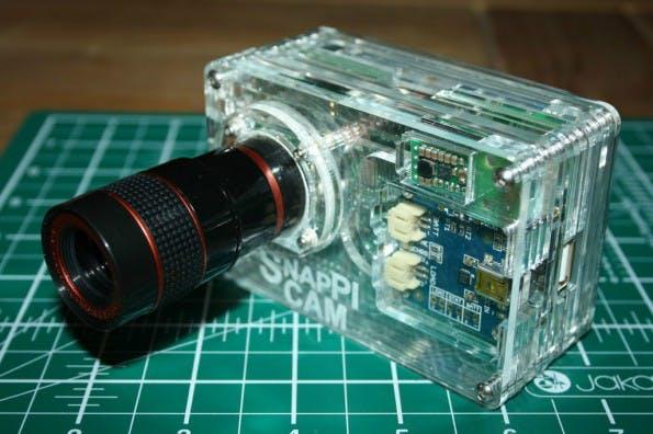 Die SnapPiCam ist nicht die erste Raspberry-Pi-Kamera, aber mit Sicherheit eine der schönsten. (Foto: SilverJimmy)