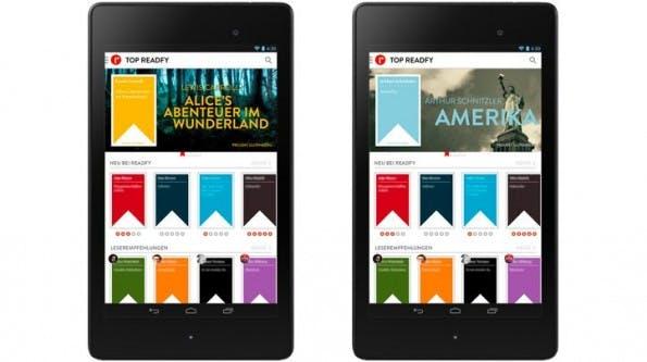 Readfy: Startup bietet kostenlose E-Books an. (Screenshot: Readfy / Companitso)