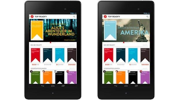 Kostenlose E-Books: Spotify für Bücher startet Freitag